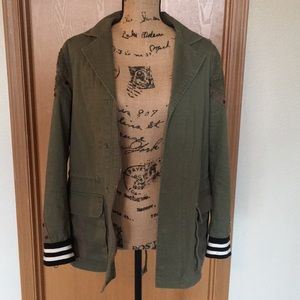 Gimmicks military style jacket from buckle 🎀
